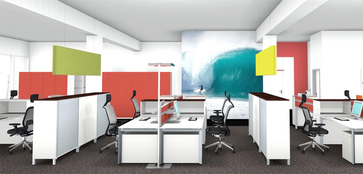 Büro - Planung der Innenarchitektur