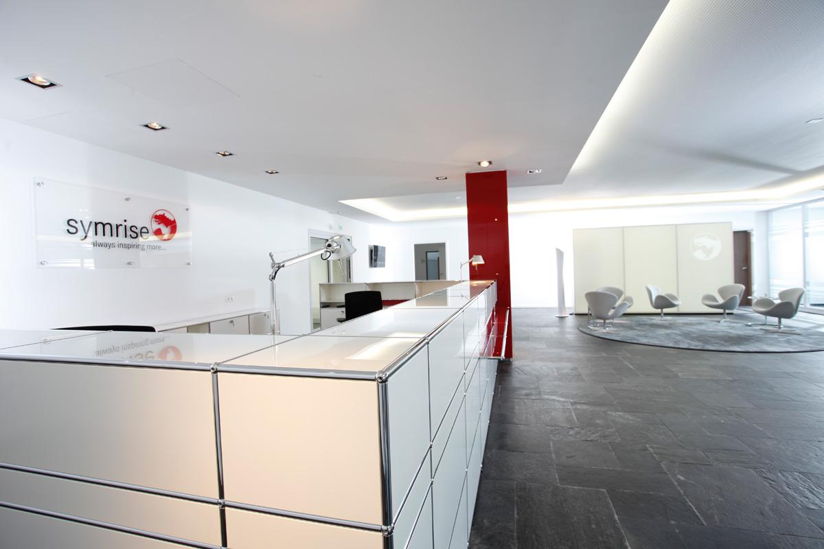 empfang und warten einrichtung mit pro office. Black Bedroom Furniture Sets. Home Design Ideas
