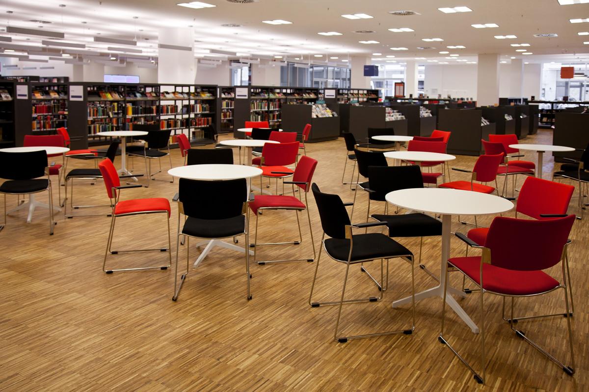pro office bielefeld stattet stadtbibliothek aus pro office. Black Bedroom Furniture Sets. Home Design Ideas