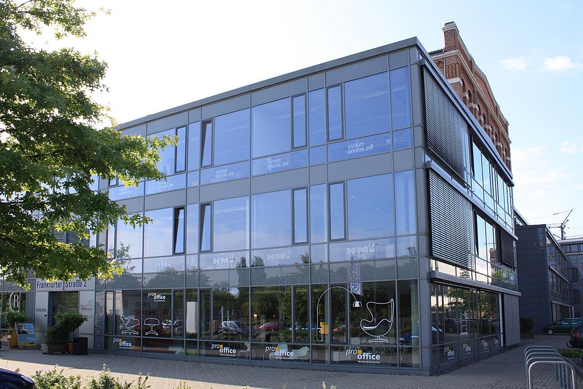 Aussenansicht pro office Braunschweig