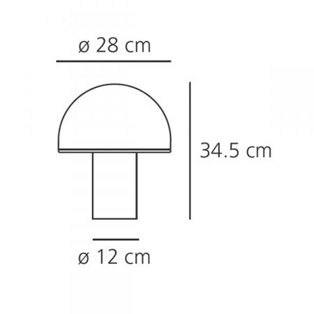 Artemide Onfale Maße