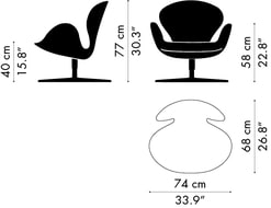 Swan Chair Masse