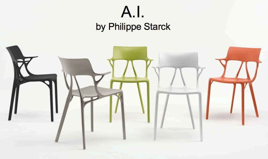 Kartell AI by Philippe Starck