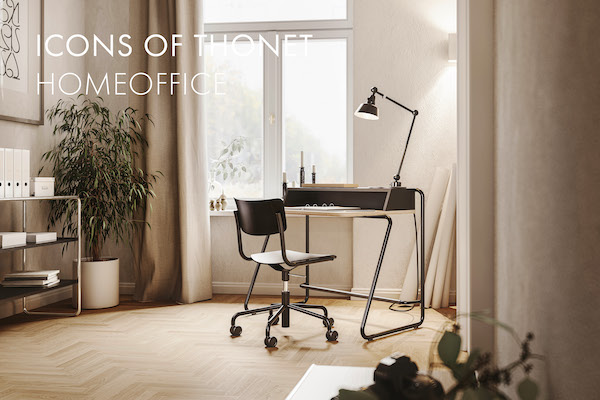 Icons of Thonet Homeoffice