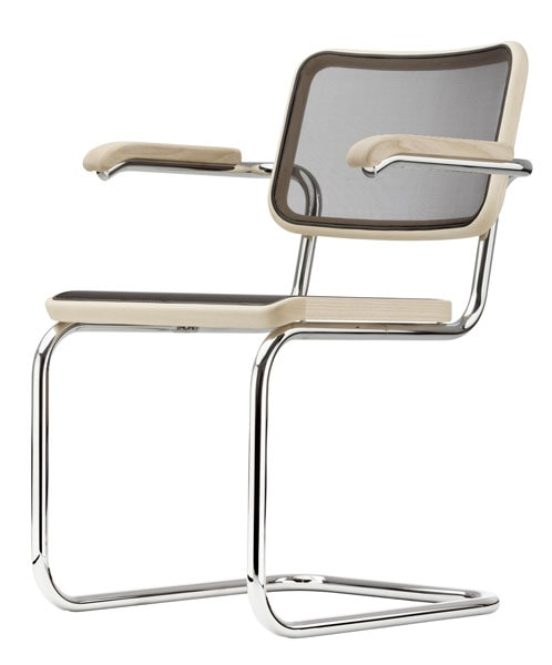 thonet s 64 chair design by marcel breuer. Black Bedroom Furniture Sets. Home Design Ideas