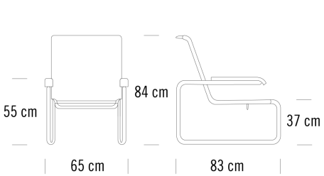 Thonet S35 Masse