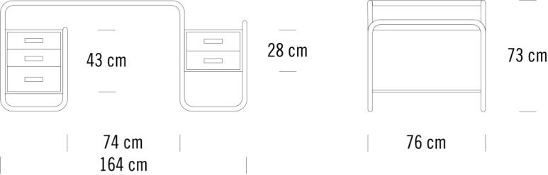 Maße Thonet S 285