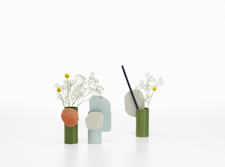 Vitra Vases Decoupage