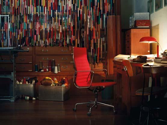 vitra ea 107 ea 108 von charles und ray eames. Black Bedroom Furniture Sets. Home Design Ideas