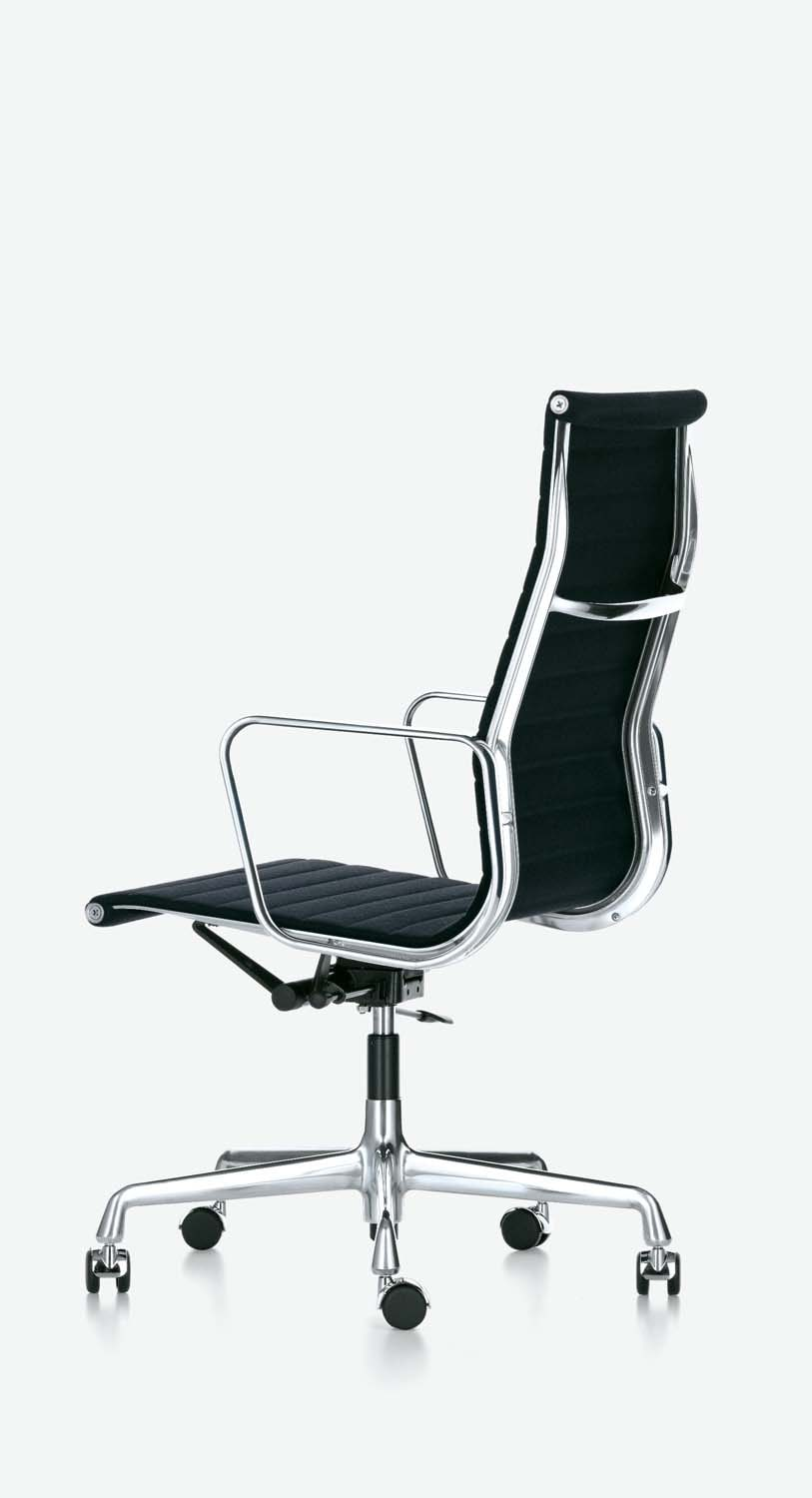 vitra ea 119 stoff aluminium chair pro office. Black Bedroom Furniture Sets. Home Design Ideas