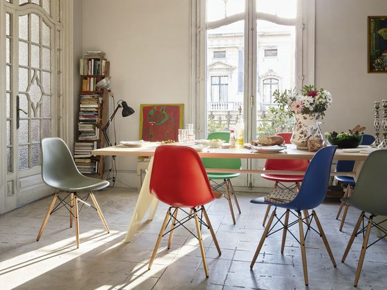 Eames Plastic Side Chair vitra eames plastic side chair dsw