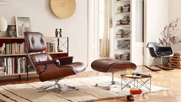 Lounge Chair mit Ottoman Vitra