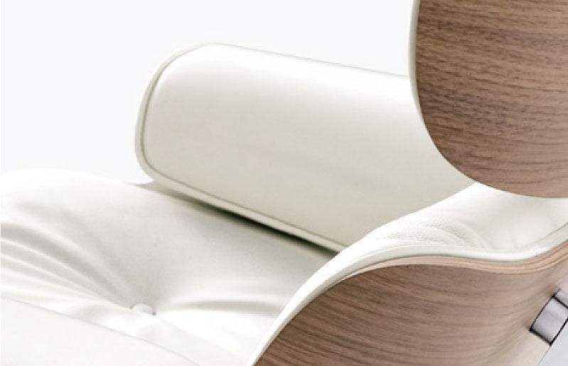 vitra Lounge Chair weiß