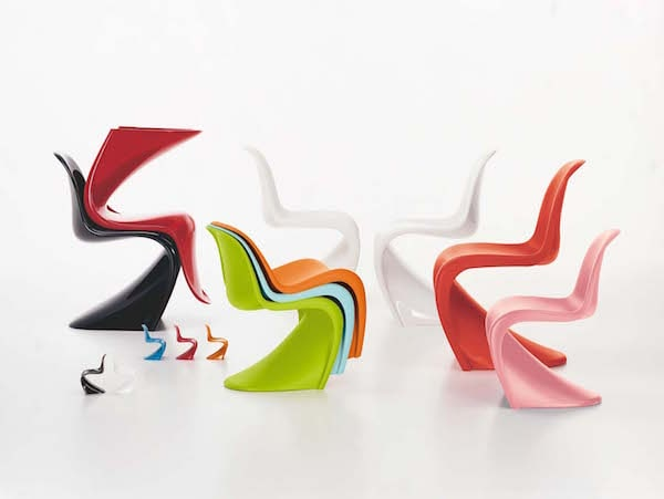 Panton Chairs in allen Farben