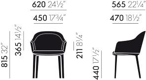 Maße Stuhl Softshell