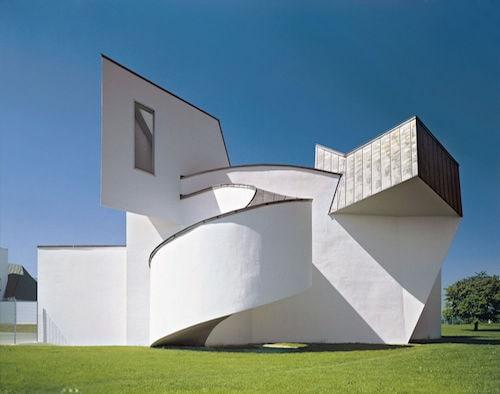 Vitra Design Museum in der Aussenansicht