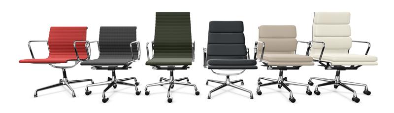 Vitra Eames Aluminium Chairs