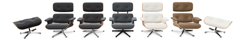 Vitra Eames Lounge Chairs