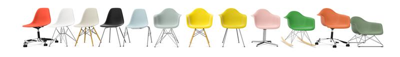 Vitra Eames Plastic Chairs