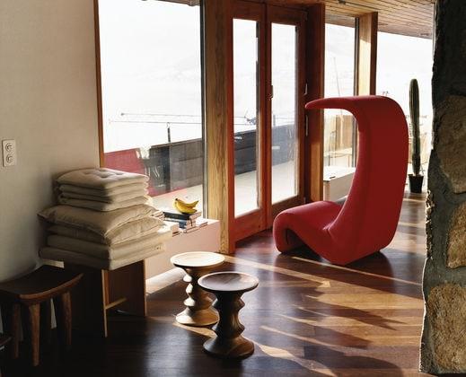 Amoebe Highback Lounge Sessel