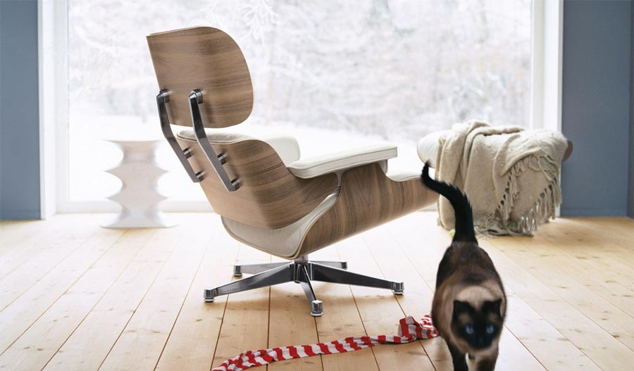 Lounge Chair in weiß