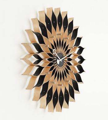 Vitra Sunflower Clock Birke