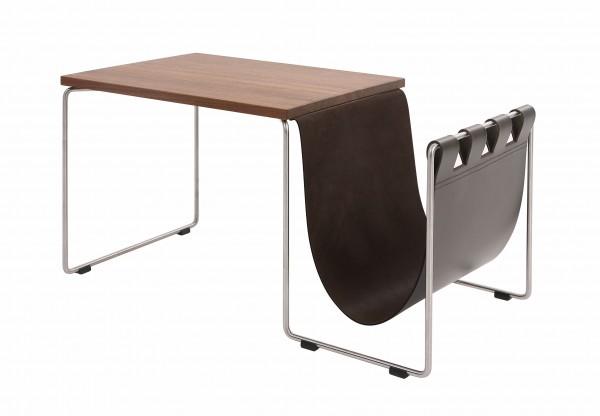 kff couchtisch nl beistelltisch mit stahlrohrgestell. Black Bedroom Furniture Sets. Home Design Ideas