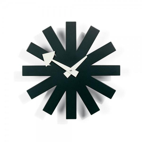 Vitra Asterisk Clock schwarz, George Nelson, 1948/60