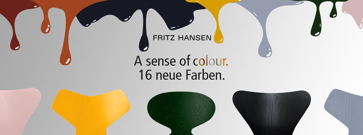 Fritz Hansen A SENSE OF COLOUR