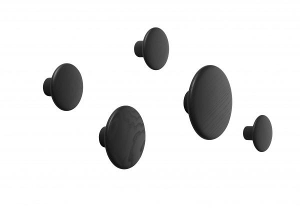 Muuto Dots Wandhaken 5er Set