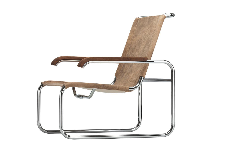 Thonet s 35 l sessel design marcel breuer im shop for Design liegesessel