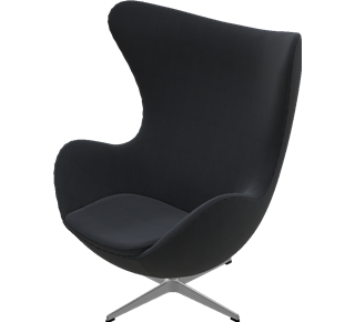 fritz hansen egg chair sessel das ei arne jacobsen. Black Bedroom Furniture Sets. Home Design Ideas