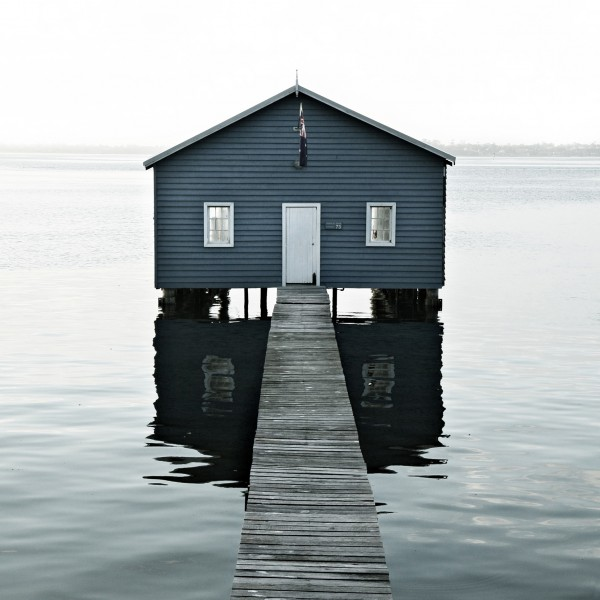 "Fine Art Print ""Lake House"""