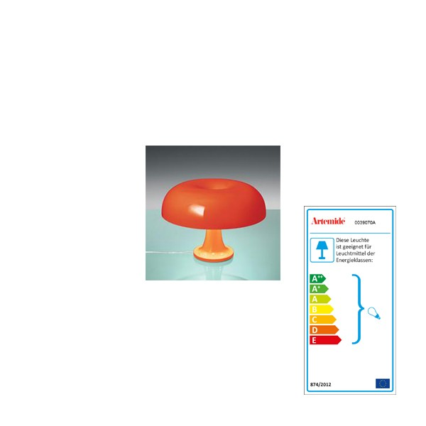 Artemide Nessino Orange