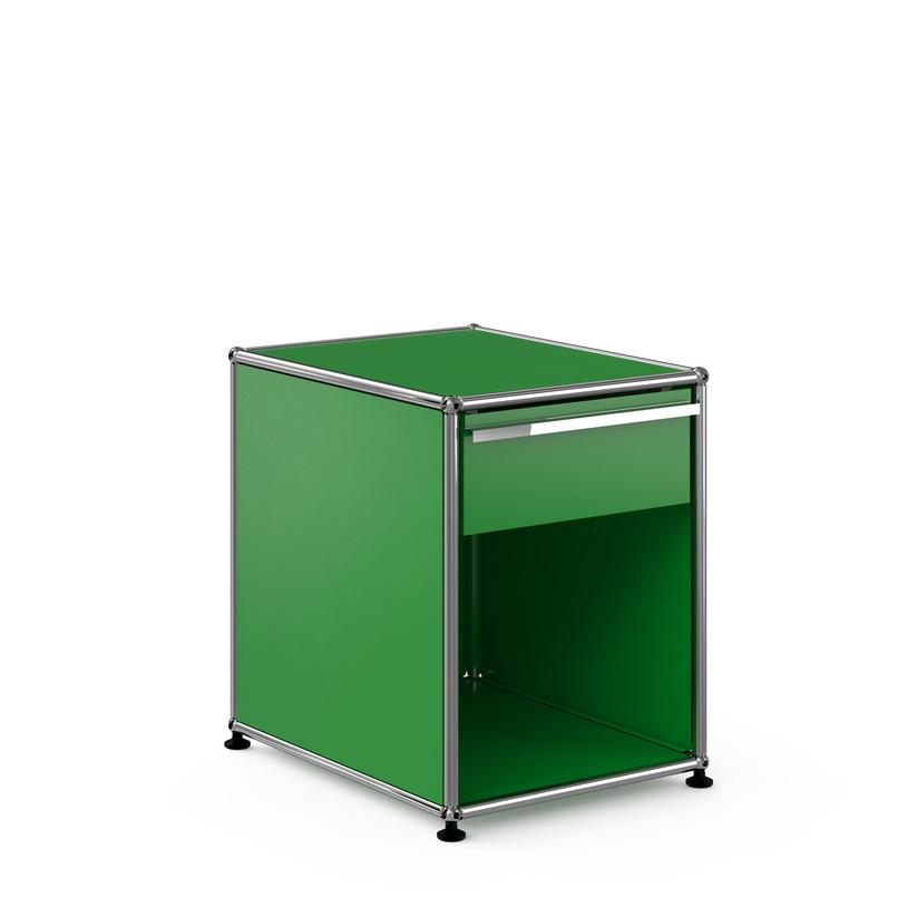 usm haller nachttisch mit schublade konfigurierbar 14 farben. Black Bedroom Furniture Sets. Home Design Ideas