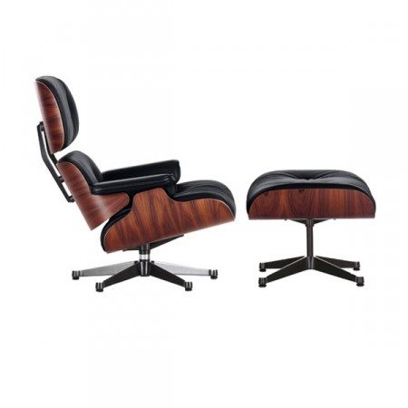 Vitra Lounge Chair mit Ottoman