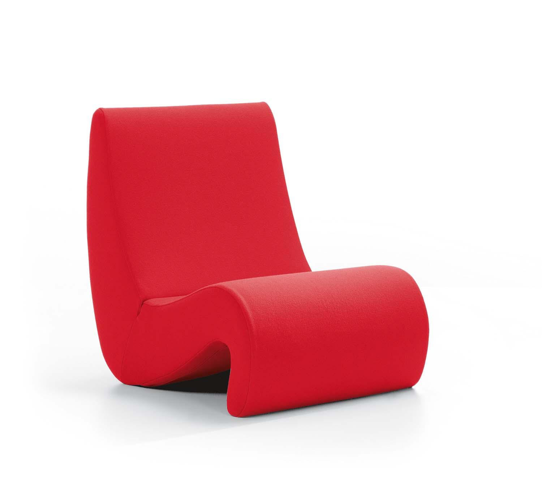 vitra amoebe lounge sessel von verner panton stoffbezug. Black Bedroom Furniture Sets. Home Design Ideas