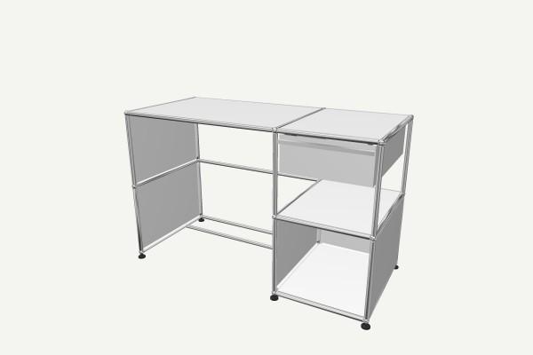 Usm Haller Schreibtisch Mit Schublade Pro Office Shop