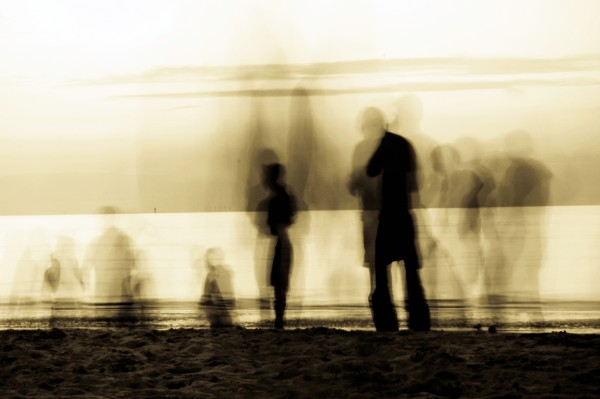 "Fine Art Print ""Beach-Walk"""