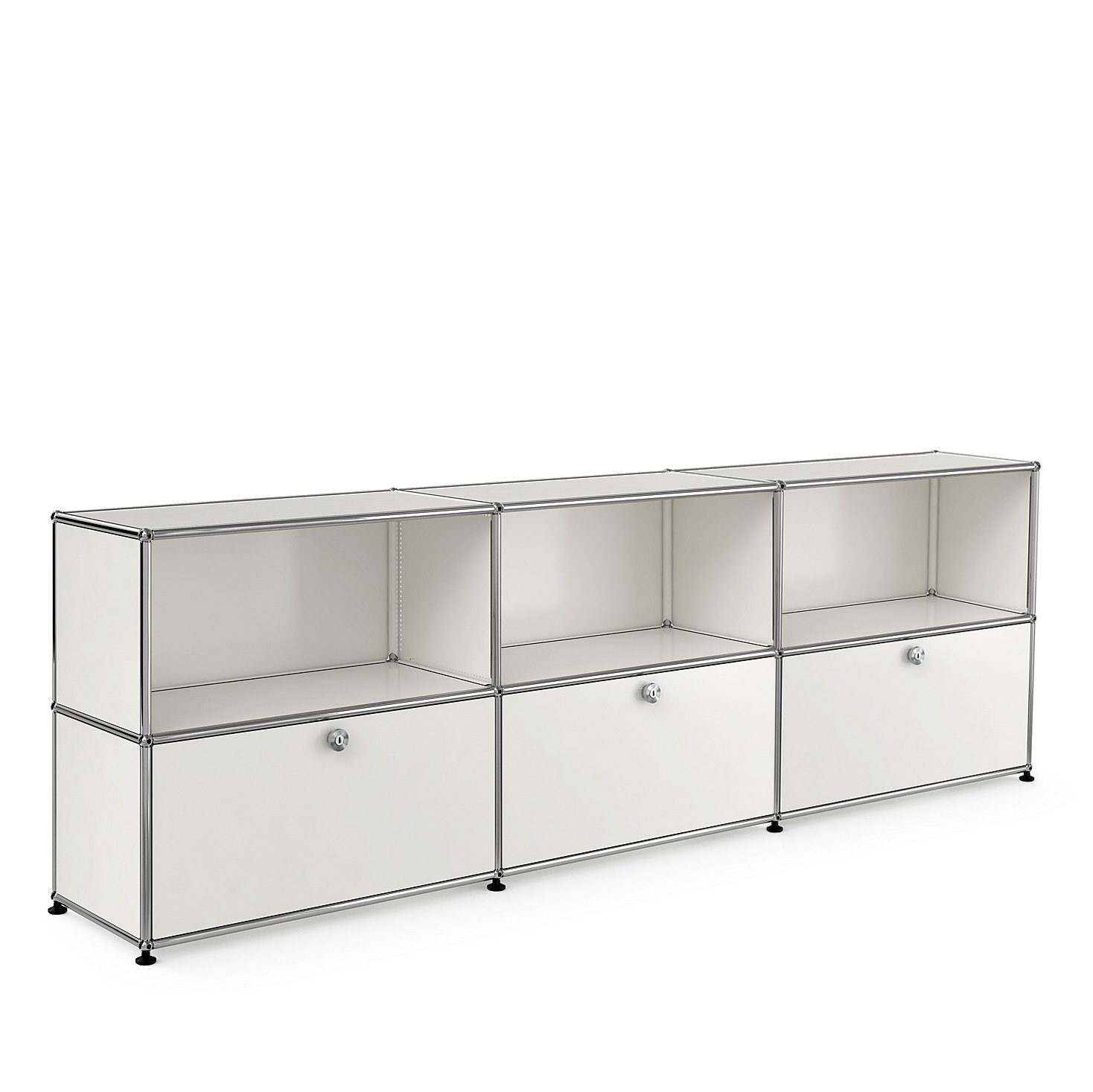 usm haller sideboard ing paul sch rer architekt fritz haller. Black Bedroom Furniture Sets. Home Design Ideas