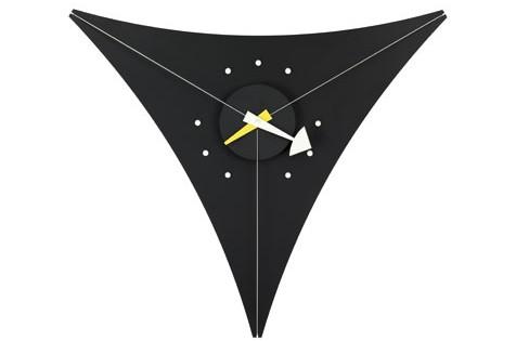 Vitra Triangle Clock schwarz