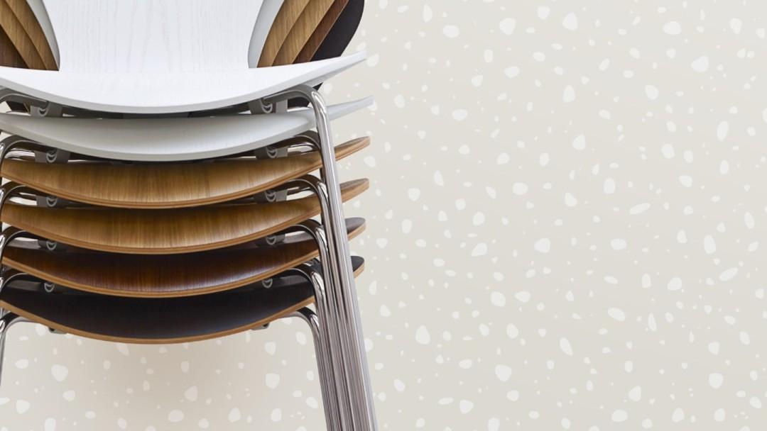 Serie 7 Stühle von Fritz Hansen