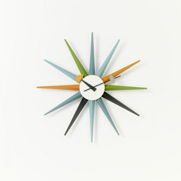 Vitra Sunburst Clock mehrfarbig, George Nelson, 1948/60