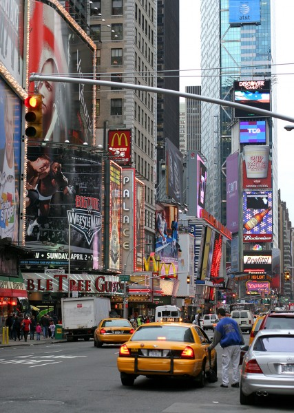 "Fine Art Print ""Times Square"""