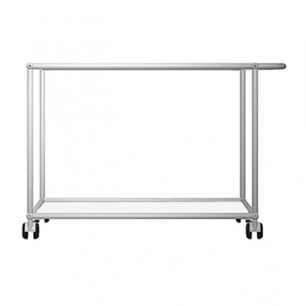 usm haller servierwagen glas transparent oder metall lackiert. Black Bedroom Furniture Sets. Home Design Ideas