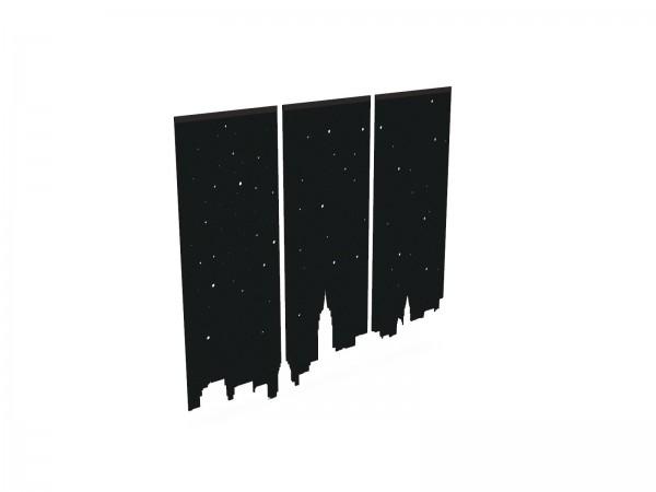 BuzziFalls Skyline Akustik-Raumteiler
