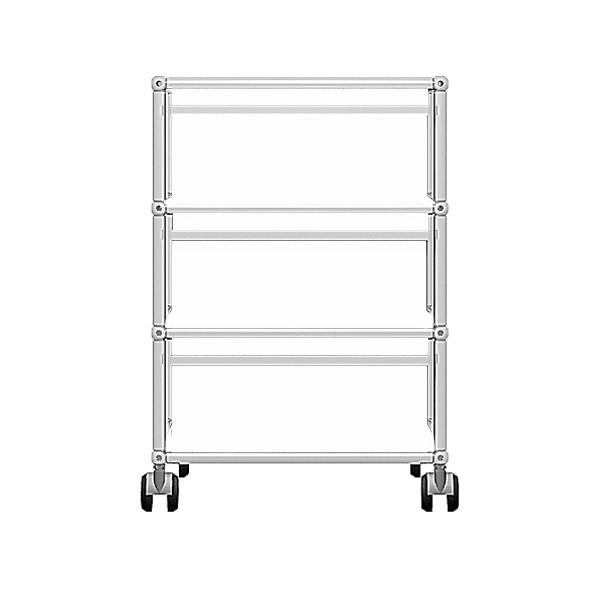 USM Haller Rollcontainer mit drei Schubladen frei konfigurierbar