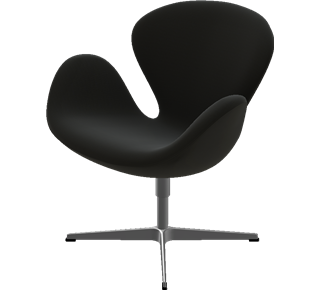 swan chair von fritz hansen arne jacobsen pro office. Black Bedroom Furniture Sets. Home Design Ideas