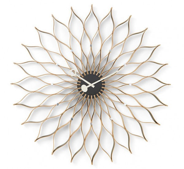 Sunflower Clock Birke