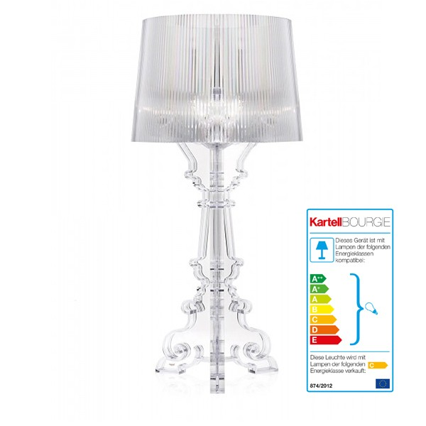 Kartell Bourgie Lampe Design Laviani Pro Office